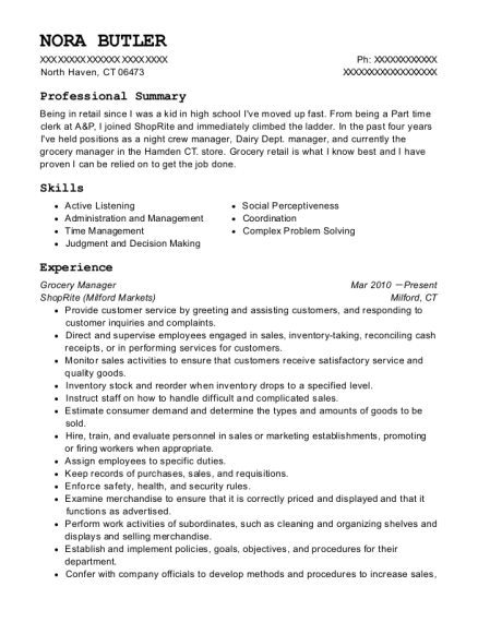 nestle dsd retail representative resume sample