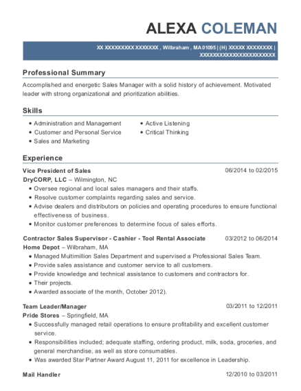 cover 2 communications vice president of operations resume