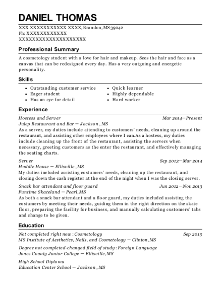 Woolworths Night Fill Resume Sample Resumehelp