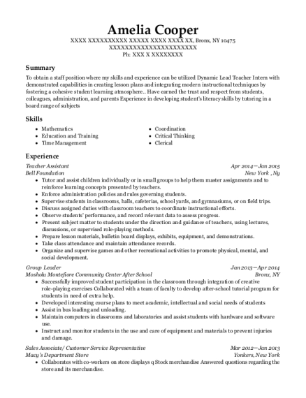 ginnys danceworks administrative office assistant resume