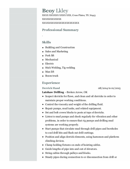 baker hughes inc senior wireline operator resume sample