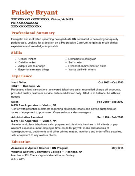 the check cashing store lead csr resume sample