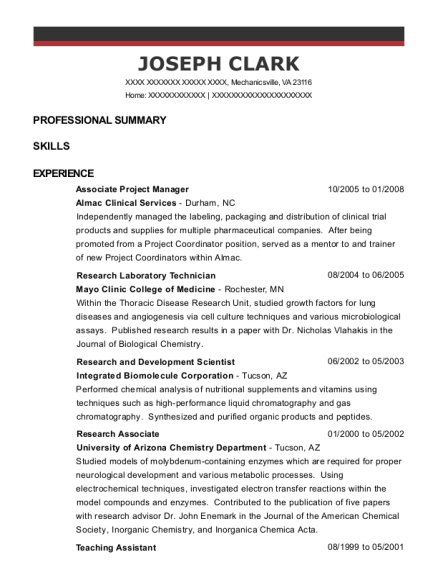 livelihood ngo operation manager resume sample